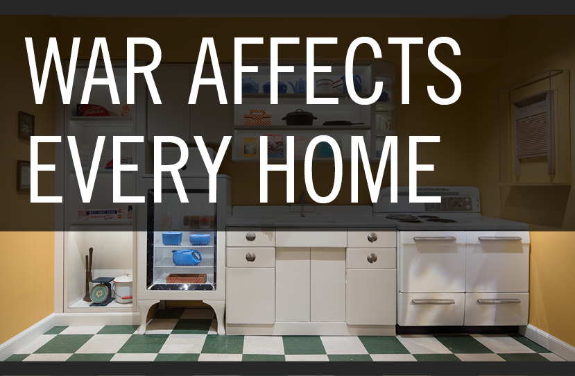 War Affects Every Home