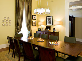 Louis Armstrong Private Dining Room