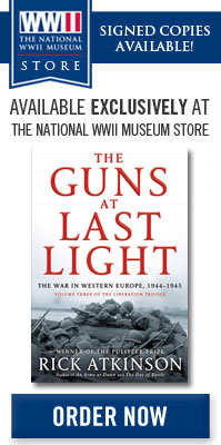 Signed Copies Available Exclusively at The National WWII Museum Store. Order Now!