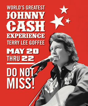 World's Greatest Johnny Cash Experience - Terry Lee Goffee