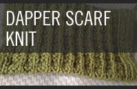 Pattern 8 - Dapper Scarf