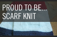 Pattern 7 - Proud to Be Scarf