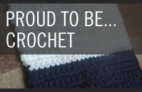 Pattern 7 - Proud to Be Scarf Crochet