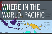 Mapping the Pacific