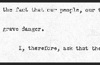 FDR's Proposed Message to Congress, page 3