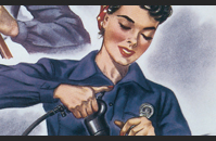 Working Women Propaganda Poster
