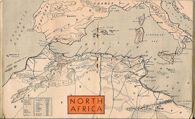 Learn northern africa map area