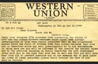 Miletta telegram