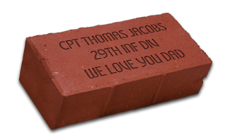 Road to Victory Commemorative Brick