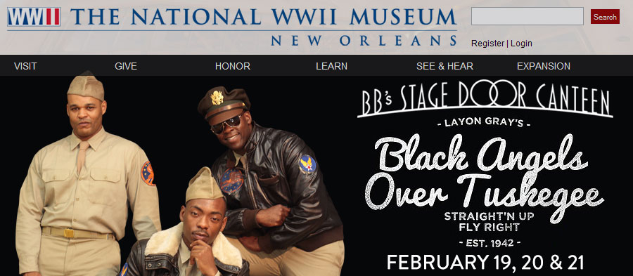 'Black Angels Over Tuskegee' at BB's Stage Door Canteen. February 19, 20 & 21