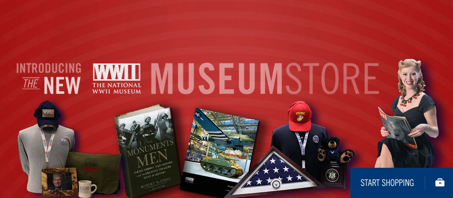 Introducing the new Museum Store. Start Shopping!
