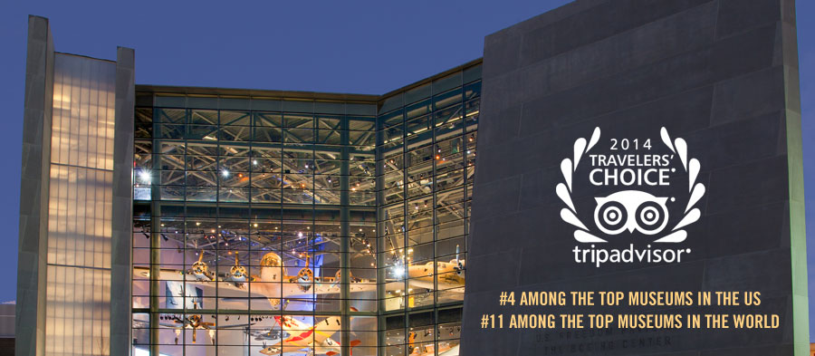 TripAdvisor Ranks Museum #4 Among the Top Museums in the US and #11 Among the Top Museums in the World.