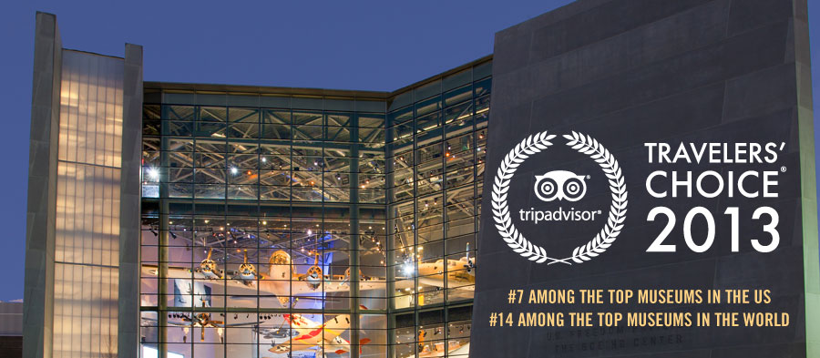 TripAdvisor Travelers' Choice 2013: #7 Among the Top Museum in the US; #14 Among the Top Museums in the World