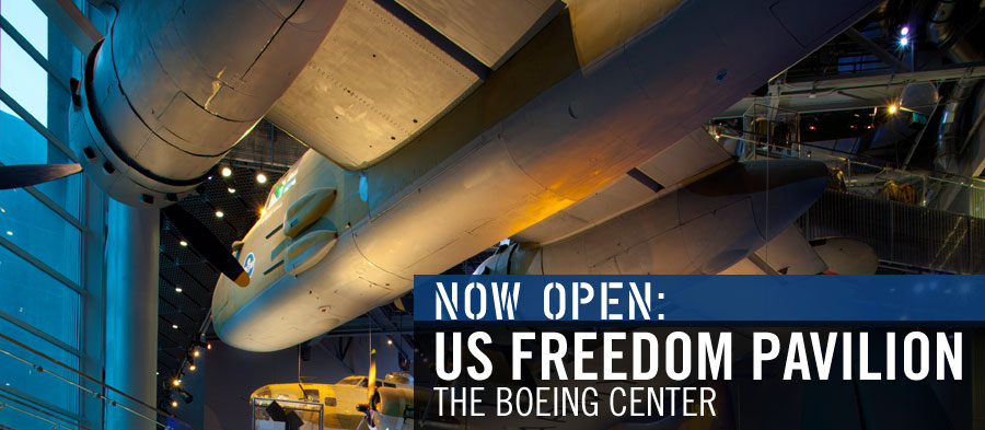 Now Open--US Freedom Pavilion: The Boeing Center