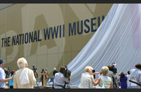 The National WWII Museum's 15th Anniversary Timeline