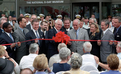 The National D-Day Museum grand opening