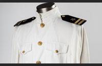US Navy Service Dress White Uniform