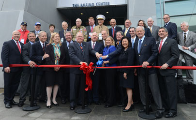 US Freedom: The Boeing Center grand opening