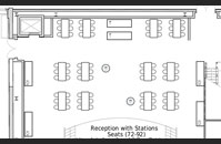 BB's Stage Door Canteen Reception (additional seating)