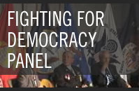 Fighting for Democracy Panel